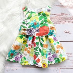 Cherokee Floral Dress Size 12 Months